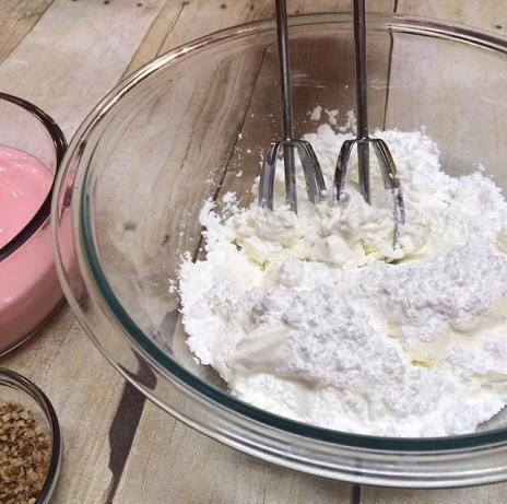 1.30 Four Layer Strawberry Dessert PROCESS 3