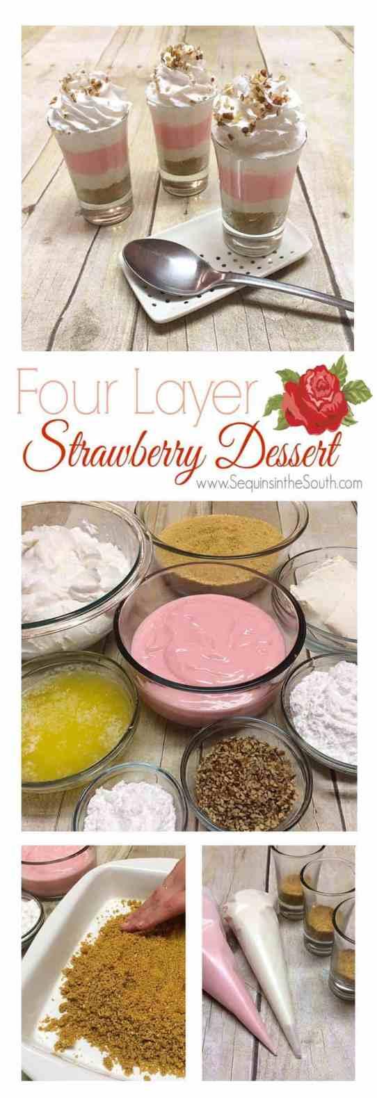 1.30 Four Layer Strawberry Dessert VERTICAL 7
