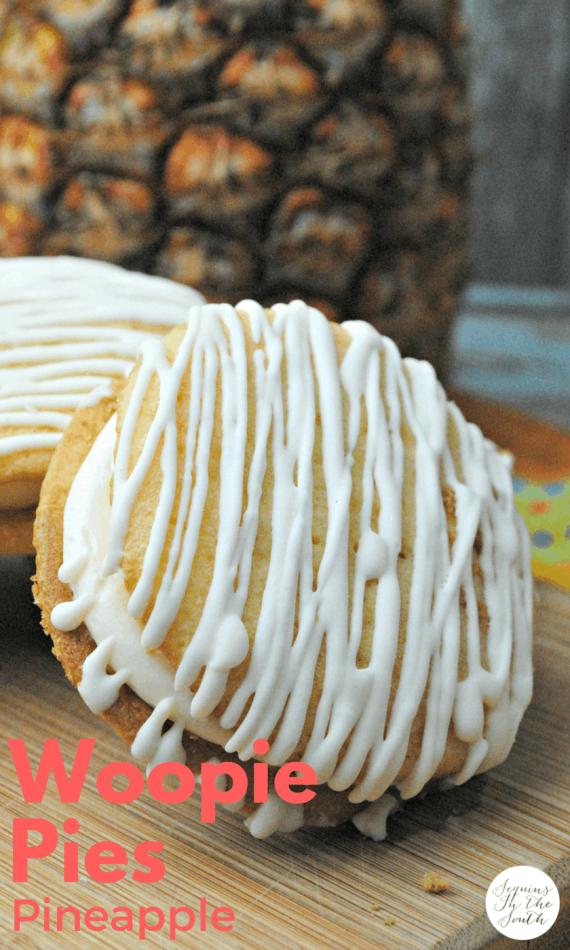Perfect Pineapple Woopie Pies