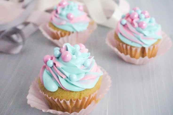 Princess Aurora Cupcakes