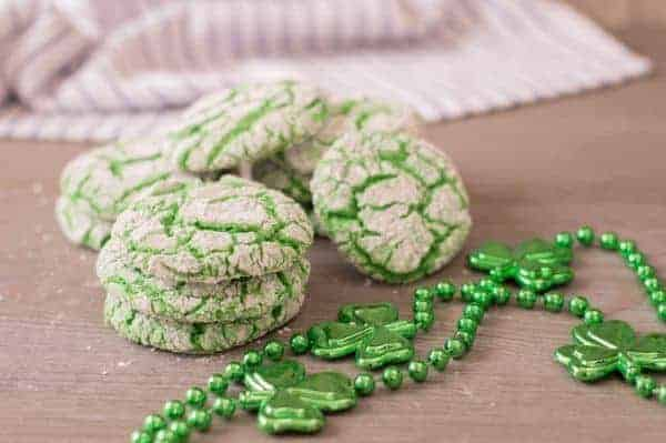 Green Cake Mix Cookies