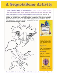 SequoiaSong Coloring Sheet for Jambo