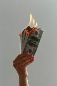 Lighting Money on Fire - DST Broker