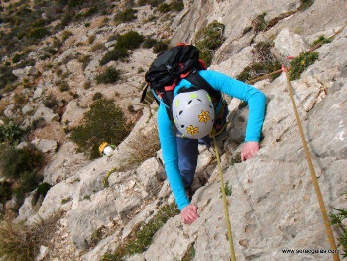 escalada Toix Integral Calpe 3 SERAC COMPAÑÍA DE GUÍAS