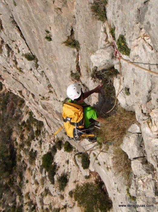 escalada Toix Integral Calpe 4 SERAC COMPAÑÍA DE GUÍAS