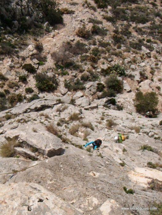 escalada Toix Integral Calpe 5 SERAC COMPAÑÍA DE GUÍAS