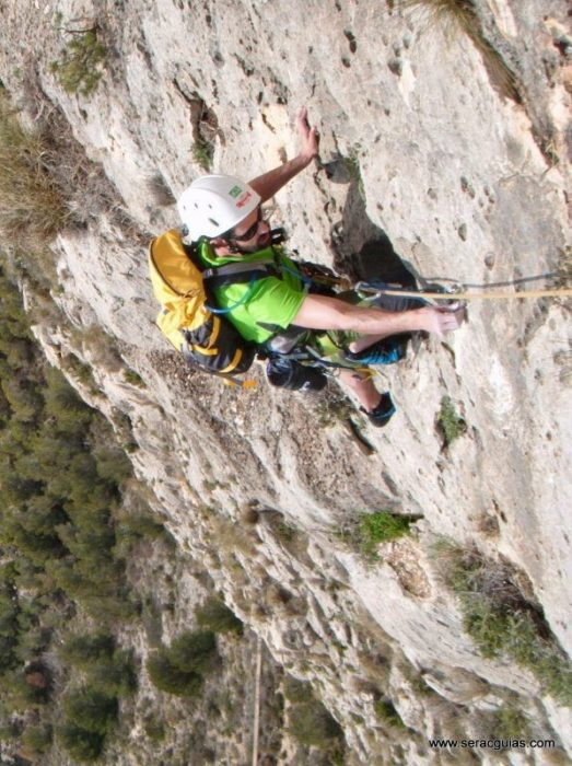 escalada Toix Integral Calpe 7 SERAC COMPAÑÍA DE GUÍAS