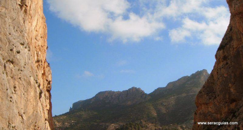 escalada UBSA Mascarat Alicante 1 SERAC COMPAÑÍA DE GUÍAS