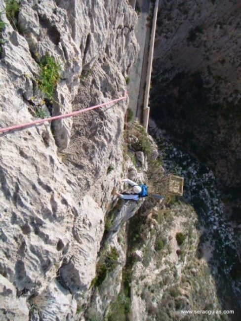 escalada UBSA Mascarat Alicante 2 SERAC COMPAÑÍA DE GUÍAS