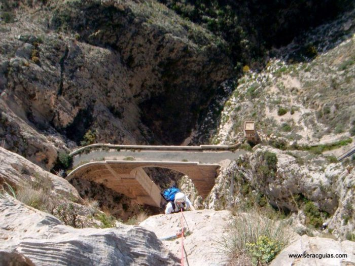 escalada UBSA Mascarat Alicante 6 SERAC COMPAÑÍA DE GUÍAS
