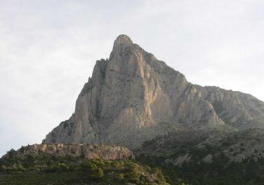 escalada Puig Campana 1 SERAC COMPAÑÍA DE GUÍAS
