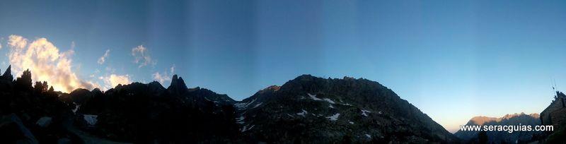 Cresta Amitges Saboredo Sageta Aiguestortes Pirineo 16 SERAC COMPAÑÍA DE GUÍAS