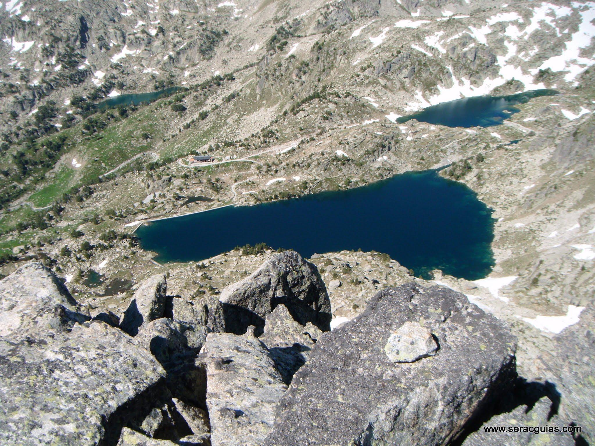 Cresta Basiero Amitges Pirineo 6 SERAC COMPAÑÍA DE GUÍAS