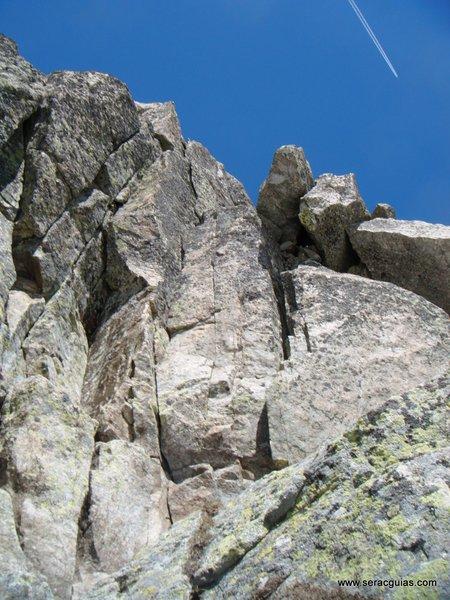 Cresta Besiberri Pirineo 5 SERAC COMPAÑÍA DE GUÍAS