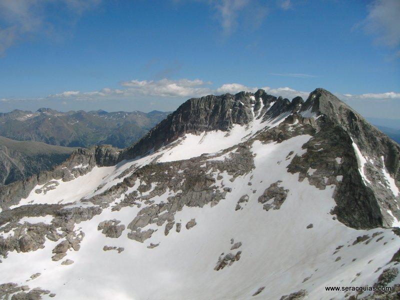 Cresta Besiberri Pirineo 9 SERAC COMPAÑÍA DE GUÍAS