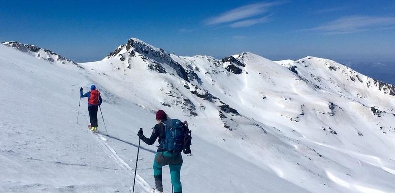 esqui montaña sierra nevada SERAC COMPAÑÍA DE GUÍAS