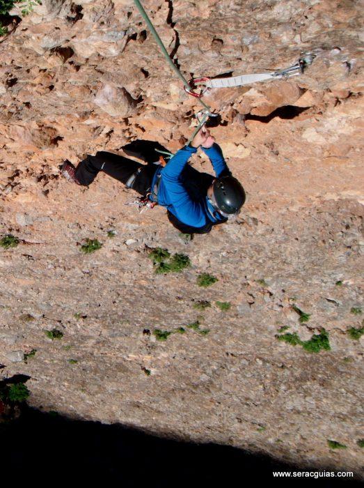 escalada Galletas Fire Riglos 3 SERAC COMPAÑÍA DE GUÍAS
