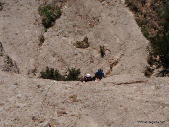 escalada Sendero Limite Rueba 1 SERAC COMPAÑÍA DE GUÍAS