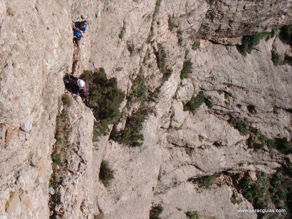 escalada Sendero Limite Rueba 2 SERAC COMPAÑÍA DE GUÍAS