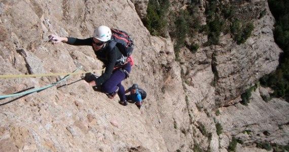 escalada Sendero Limite Rueba 3 SERAC COMPAÑÍA DE GUÍAS
