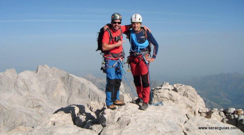 escalada arista cresta picos de europa 11 SERAC COMPAÑÍA DE GUÍAS