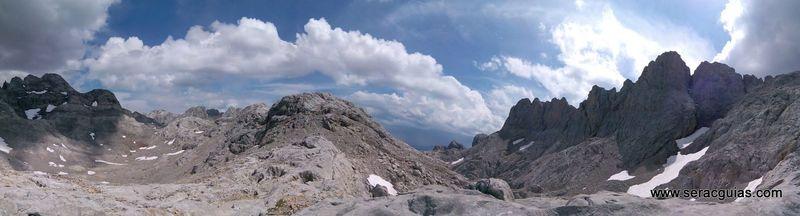 escalada arista cresta picos de europa 12 SERAC COMPAÑÍA DE GUÍAS