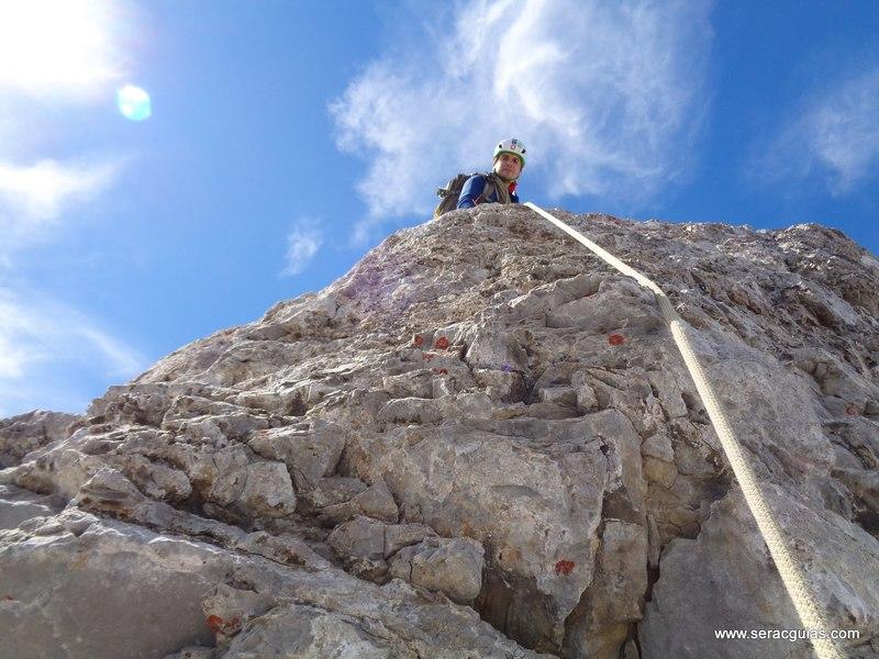 escalada arista cresta picos de europa 5 SERAC COMPAÑÍA DE GUÍAS