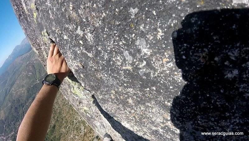 escalando torozo Gredos SERAC COMPAÑÍA DE GUÍAS