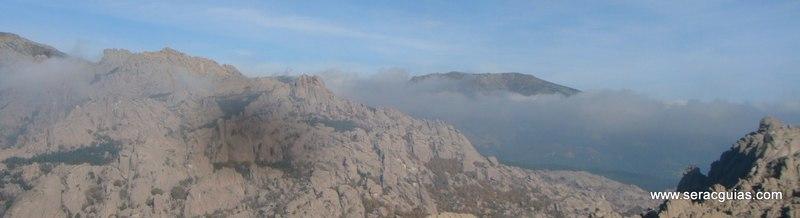 escalada Calavera Yelmo Pedriza Guadarrama 5 SERAC COMPAÑÍA DE GUÍAS