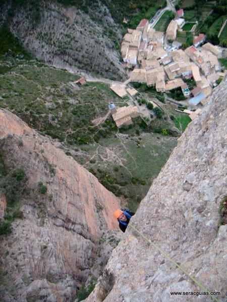 escalada adamelo pison riglos 4 SERAC COMPAÑÍA DE GUÍAS