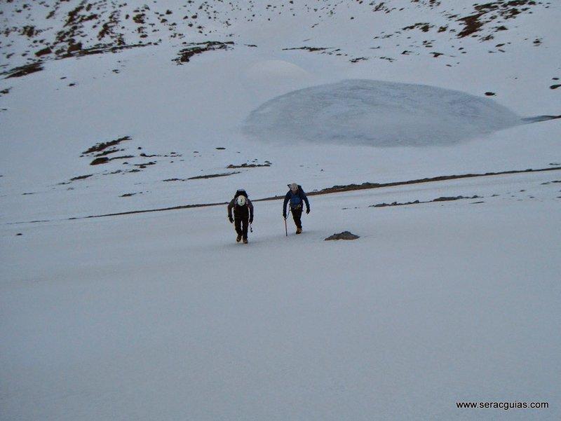 Cara Norte Mulhacen Sierra Nevada 2 SERAC COMPAÑÍA DE GUÍAS