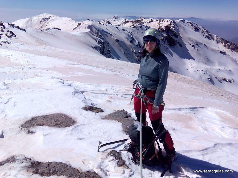 sierra nevada collado cariguela SERAC COMPAÑÍA DE GUÍAS