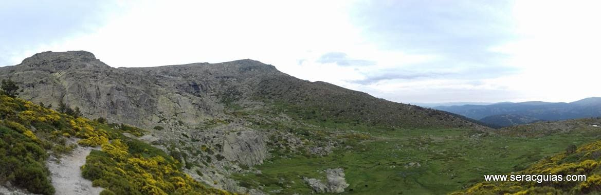 escalada 2 Peñalara Sierra de Guadarrama Madrid SERAC COMPAÑÍA DE GUÍAS