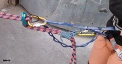 rapel autoseguro autoasegurado escalada alpinismo SERAC COMPAÑÍA DE GUÍAS