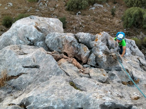 roca variable Tajo de Gómer SERAC COMPAÑÍA DE GUÍAS