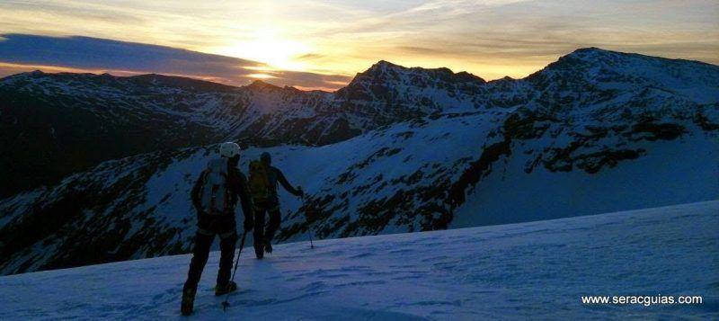 curso alpinismo 1 SERAC COMPAÑÍA DE GUÍAS