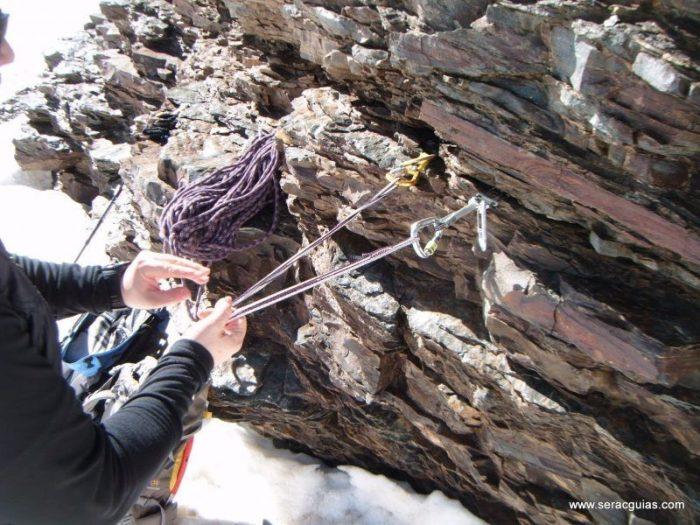 curso alpinismo 16 SERAC COMPAÑÍA DE GUÍAS