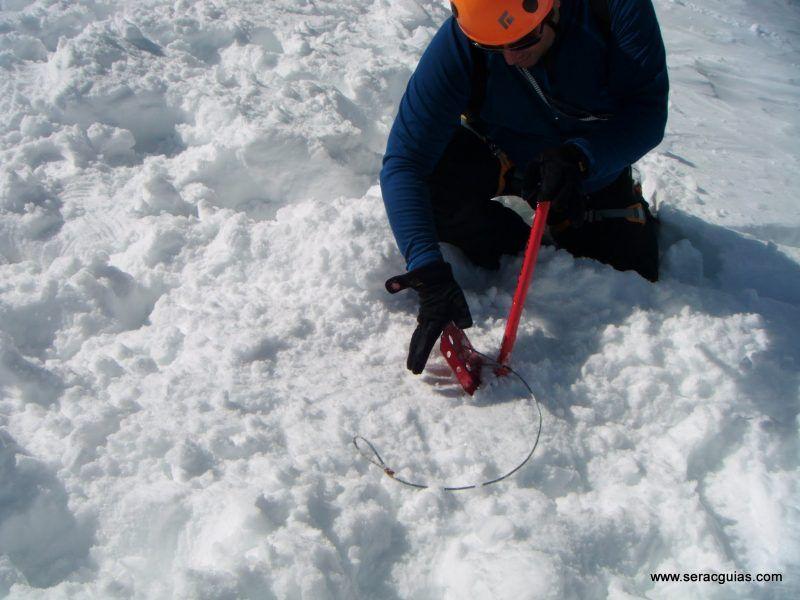 curso alpinismo 19 SERAC COMPAÑÍA DE GUÍAS