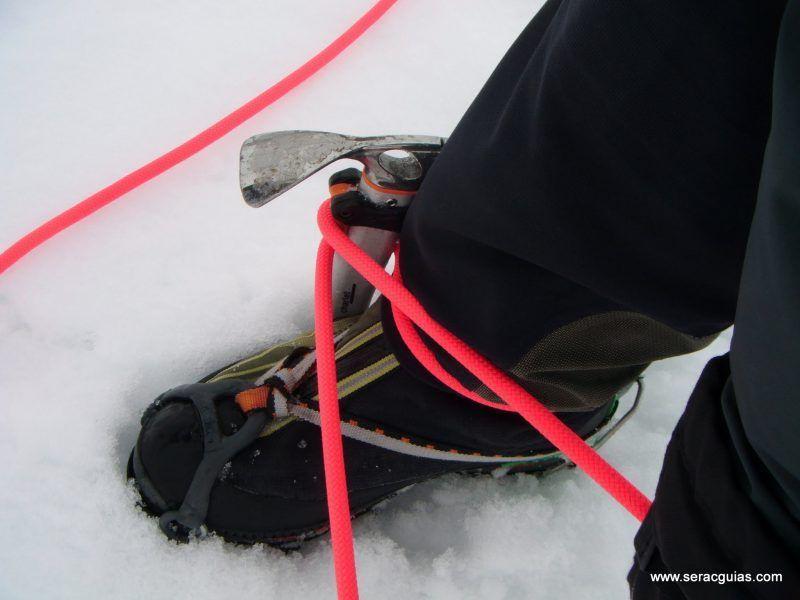 curso alpinismo 26 SERAC COMPAÑÍA DE GUÍAS