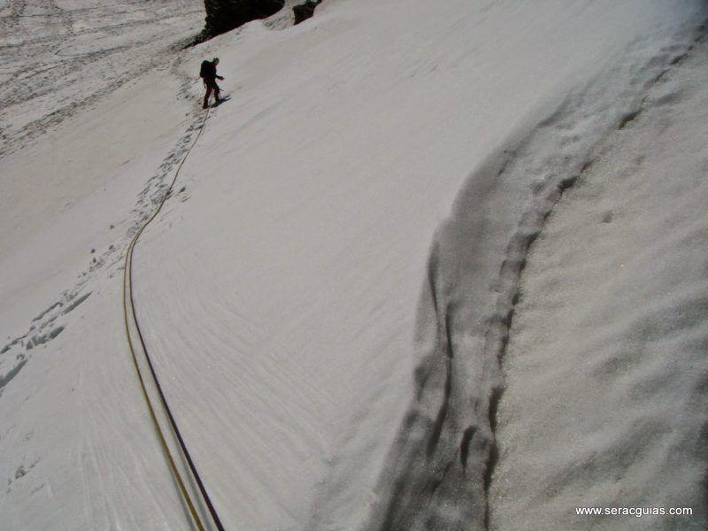 curso alpinismo 8 SERAC COMPAÑÍA DE GUÍAS