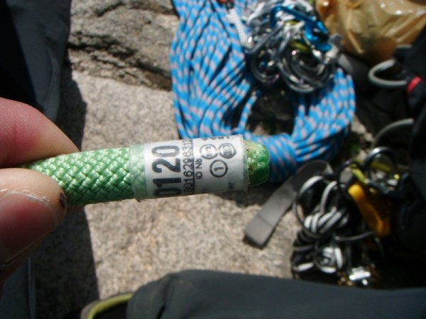 como elegir utilizar cuerda escalada alpinismo 2 SERAC COMPAÑÍA DE GUÍAS
