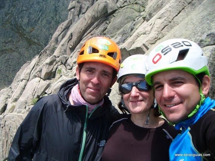 escalada Gilette Berroqueras Galayos Gredos 6 SERAC COMPAÑÍA DE GUÍAS