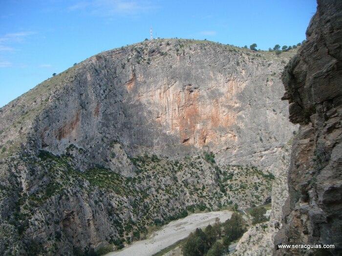 Vados Granada Andalucia escalada SERAC COMPAÑÍA DE GUÍAS