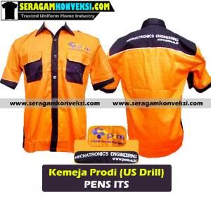 bikin seragam kemeja kantor, perusahaan, organisasi murah kirim ke Bima