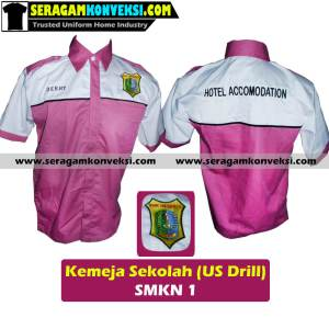 pesan grosir seragam kerja desain sendiri (custom) murah kirim ke Kigamani