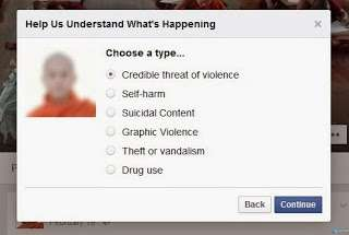 Ayo Umat Islam, Laporkan Fanpage/Halaman Facebook Biksu Radikal Ahsin Wirathu Agar Ditutup Sebagai Bentuk Protes
