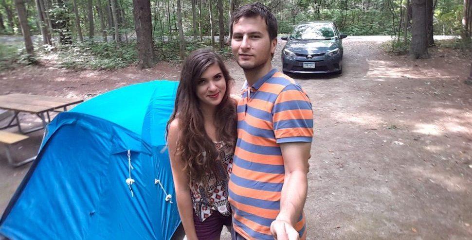 Amerikada Kamp Selfie