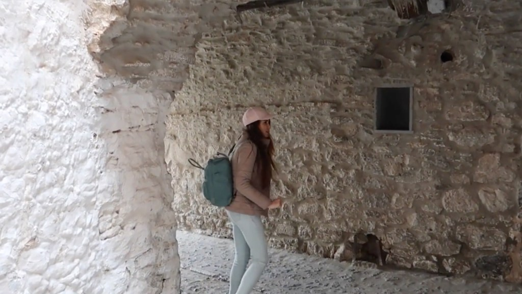 Sakız Adası Mesta Köyü