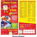 Brosur Laundry Simply Fresh Jambi