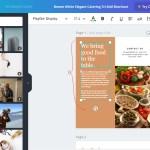 Halaman Editor Desain Template Canva